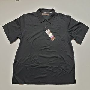 Perry Ellis Men's Size XXL·2XL Black Polo Shirt